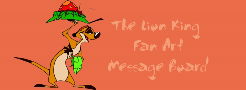 The Lion King Fan Art Message Board